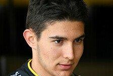 Formel 1 - Ocon: DTM-Auto ist härter als F1-Bolide