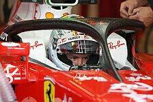 Formel 1 - Fahrer sprechen sich klar für Halo aus