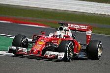 Formel 1 - Ferrari in Silverstone: Zu windig, zu langsam