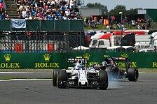 Formel 1 - Williams kämpft in Silverstone um Anschluss