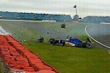 Formel 1 - Ericsson nach Unfall im Krankenhaus
