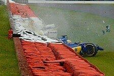 Formel 1 - Bilder: Großbritannien GP - Ericsson-Unfall