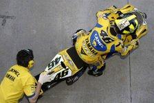 MotoGP - Jerez, Tag 2: Rossi wieder an der Spitze