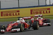 Formel 1 - Reifen für Ungarn: Ferrari geht Risiko