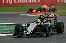 Formel 1 - Force India in Ungarn: Angriff auf Williams