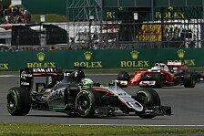 Formel 1 - Hülkenberg: Kann mir von Alonsos Lob nichts kaufen