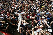 Formel 1 - Hamilton im WM-Vorteil? Rosberg kontert trocken