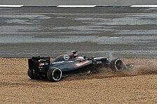 Formel 1 - Silverstone: Kurve eins fordert viele Opfer