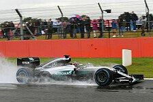 Formel 1 - Ocon fährt erstmals im Silberpfeil