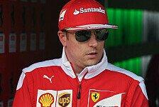 Formel 1 - Räikkönen: Rennleitung und Regeln sind ein Witz