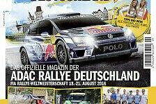 WRC - Rallye-Deutschland-Magazin ab sofort erhältlich