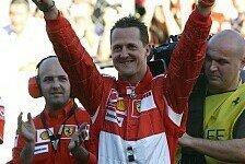 Formel 1 - Michael Schumacher: Ich bin jetzt wesentlich gelöster