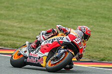 MotoGP - FP3: Marquez mit Hammerzeit, Desaster für Lorenzo
