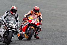 MotoGP - Marquez dominiert Quali, Lorenzo stürzt doppelt