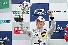 Formel 3 EM - Günther mit Start/Ziel-Sieg in Zandvoort