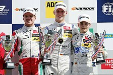 Formel 3 EM - Zandvoort: Maximilian Günther gewinnt Rennen drei