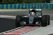 Formel 1 - 1. Training: Hamilton unter 2015er Pole Zeit