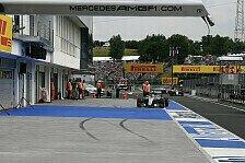 Formel 1 - Hamilton startet mit Crash ins Ungarn-Wochenende