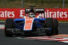 Formel 1 - Wehrlein: Kein Grund zur Euphorie in Ungarn