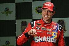 NASCAR - Kyle Busch holt die Indy-Pole
