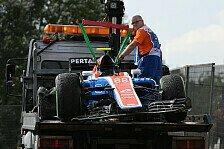 Formel 1 - Video: Trio crasht im Ungarn-Qualifying