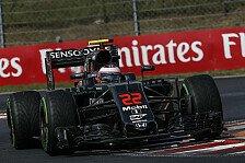 Formel 1 - Button: Lächerliche Strafe auf dem Hungaroring