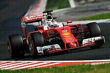 Formel 1 - Vettel beißt sich an Ricciardo die Zähne aus