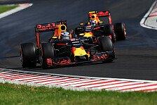 Formel 1 - Nur Reihe zwei: Red Bull hadert mit dem Qualifying