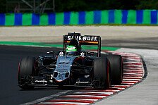 Formel 1 - Hülkenberg in Ungarn von Strategie ausgebremst