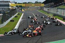 Formel 1 - Statistiken, Updates & Ausblick: Singapur 2016