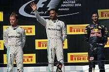 Formel 1 - Bilder: Ungarn GP - Podium
