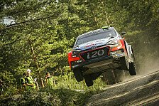 WRC - Video: Hyundai 'best of the rest' im Finnland-Shakedown