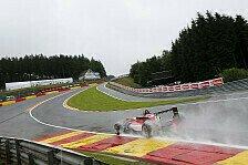 Formel 3 EM - Stroll fährt im Regen von Spa auf die Pole
