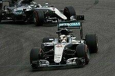 Formel 1 - 3. Training: Rosberg vorne, Hamilton droht Ärger