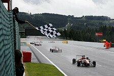 Formel 3 EM - Stroll gewinnt Regenrennen in Spa