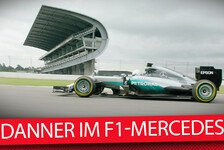 Formel 1 - Danner begeistert nach Fahrt im F1-Mercedes