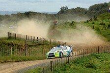 WRC - Ford gibt auch an Tag zwei den Ton an