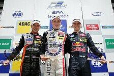 Formel 3 EM - Spa-Francorchamps: Sieg für Rookie Eriksson
