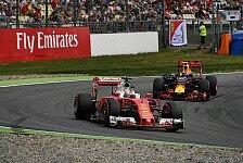 Formel 1 - Red Bull zieht an Ferrari vorbei