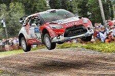 WRC - Meeke gewinnt als erster Brite die Rallye Finnland