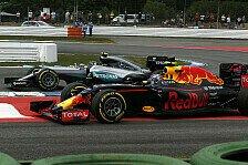 Formel 1 - Rosberg vs. Verstappen: Duell mit Brisanz