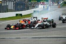 Formel 1, Reifenwahl Hockenheim: Ferrari & Mercedes vorsichtig