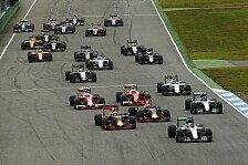 Formel 1 - RTL: Gute TV-Quoten bei Deutschland-Comeback
