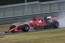 Vettel mit heftigem Unfall bei Pirelli-Test: Fahrer unverletzt, Auto schrott