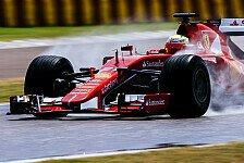 Formel 1 - Pirelli und Ferrari beenden ersten 2017er Test