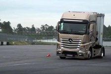 Formel 1 - Video: Rosberg, Wehrlein und Hülkenberg im LKW-Test