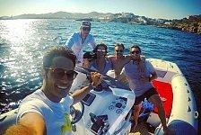 DTM - Mit drei DTM-Stars im Urlaub auf Ibiza