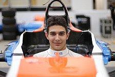 Formel 1 - Fahrerwechsel bei Manor: Ocon ersetzt Haryanto