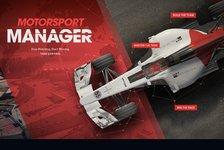 Games - Sei Motorsport Manager am heimischen PC