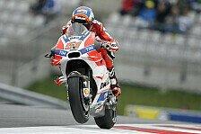 Pirro ersetzt Iannone bei Ducati und schlägt Dovizioso im Qualifying